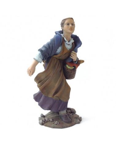 Pastora amb cistell