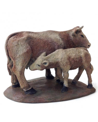 Cow and calf 12-15 cm