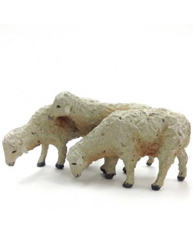 Trois agneaux 13-15 cm