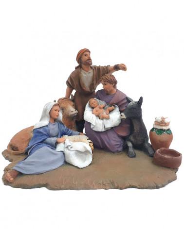 """""""Bethlehem"""" group 12cm."""