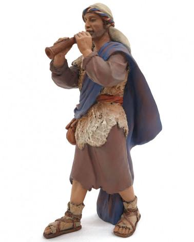 Shepherd with flute 17cm.