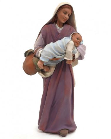 Ana and her child 17cm.