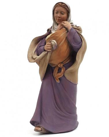 Maria and the Jesus child...