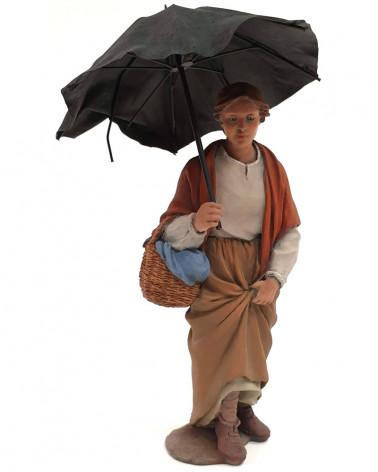 Under the umbrella 15cm.