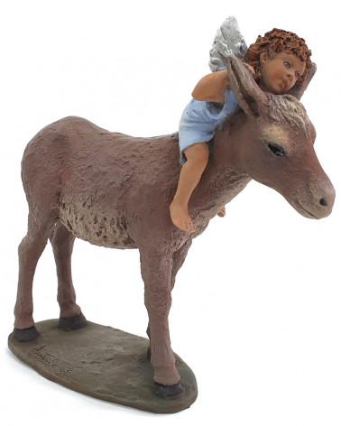 Angel on the mule 17cm.