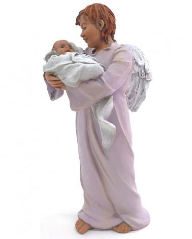Ange portant Jésus de bébé...