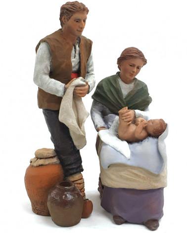 Natività tradizionale 12cm.