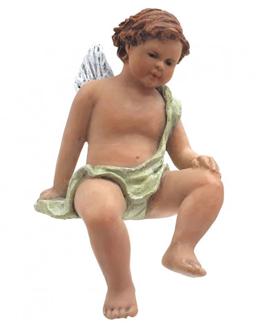 Angel seated 15cm.