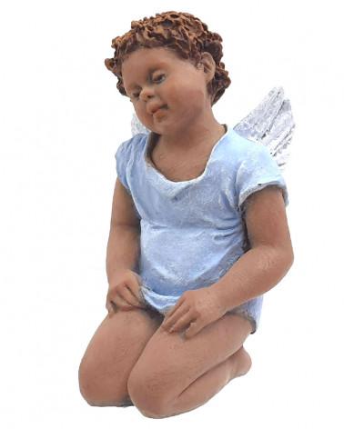 Angel arrodillado 15cm.