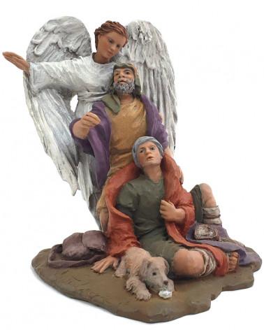 Annunciation group 12cm.