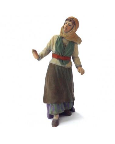 Shepherdess standing