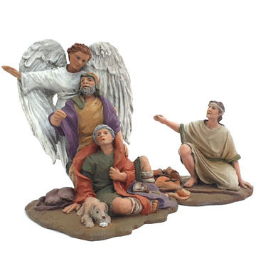 Annunciation to the Shepherds 12cm.