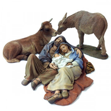 "Christmas crib ""Good sleep-1"" 17cm."