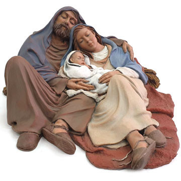 "Christmas crib ""Good sleep"" 30cm."