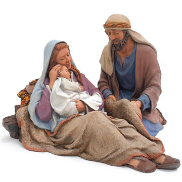 "Christmas crib ""Hope"" 20cm."