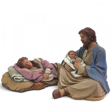 "Christmas crib ""Lullaby"" 17cm."