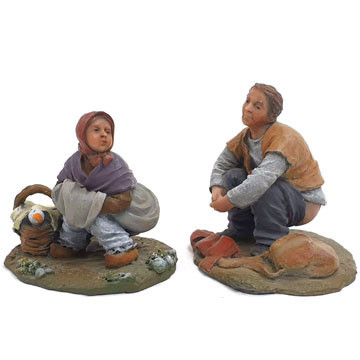 """Caganers"" (traditionelle ""Scheißerle"") 12cm."