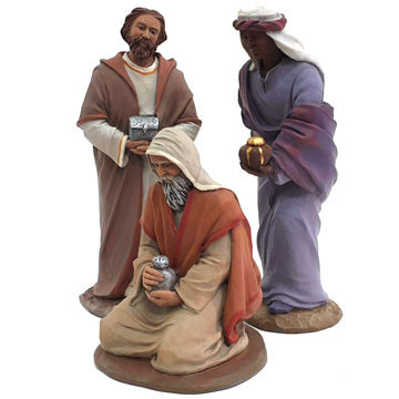 The three wise men 15cm.