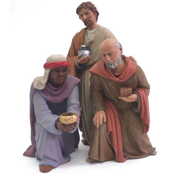 The three wise men 17cm.