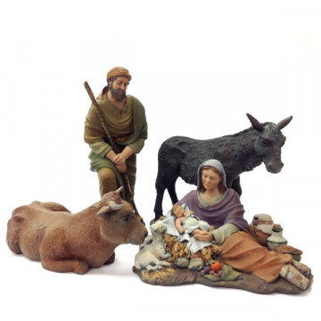 "Christmas crib ""Silent Night"" 20cm."