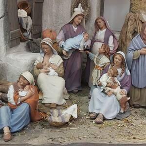 """Damos soporte a la campaña """"SACA PECHO POR ELLAS"""" de la Asociación Española Contra el Cáncer (AECC). Aportaremos nuestro granito de arena a favor de la investigación.  #pessebre #figuresdepessebre #aecc #mum #adornosnavidad #christmas #presepe #jesus #MontserratRibes #god #jesuschrist #handmade #followforfollowback #belenesnavideños #love #likeforlikes #nice #christmas #amazing #dios #presepi #art #escultura #photography #virgin #adorable #cute #baby #share #belem #cancerdemama"""