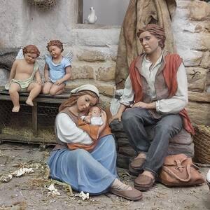 Que nadie nos arrebate nuestro sueño.  Sueño, Natividad 15cm.  #pessebre #figuresdepessebre #belenes #figura #adornosnavidad #christmas #presepe #jesus #MontserratRibes #god #jesuschrist #handmade #followforfollowback #belenesnavideños #love #likeforlikes #nice #christmas #amazing #dios #presepi #art #escultura #photography #together #virgin #adorable #cute #baby #share #dreams